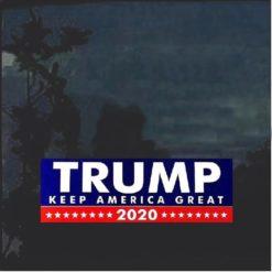 Keep America Great Again Trump 2020 Bumper Sticker