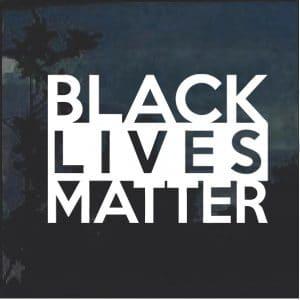 BLM Black Lives matter Decal Sticker
