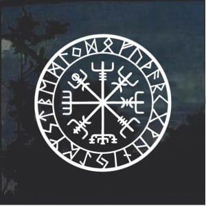 Vevigsir Viking Emblem Decal Sticker