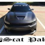 Dodge Challenger Scat Pack Windshield Banner