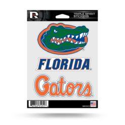 Florida Gators Triple Spirit Window Decal Sticker Officially Licensed