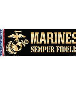 Marines semper Fidelis Bumper sticker