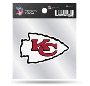 Kansas City Chiefs Arrowhead Die Cut Decal Sticker Officially Licensed