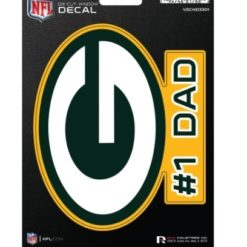Green Bay Packers Dad Window Decal Sticker Officially Licensed NFL Football