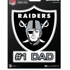 Las Vegas Raiders Dad Window Decal Sticker Officially Licensed NFL Football