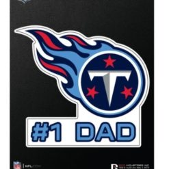 Tennessee Titans Titans Dad Window Decal Sticker Officially Licensed NFL Football