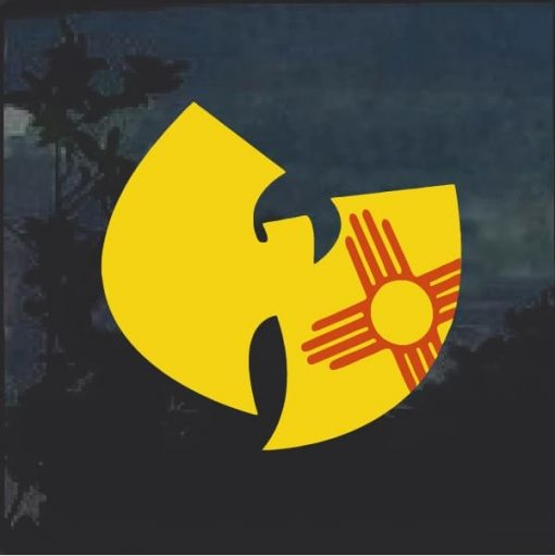 Wu Tang Clan Full Color Window Decal - Band Stickers