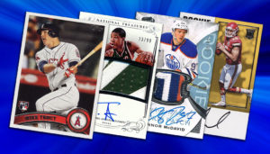 Sports Cards Memorabilia and collectibles
