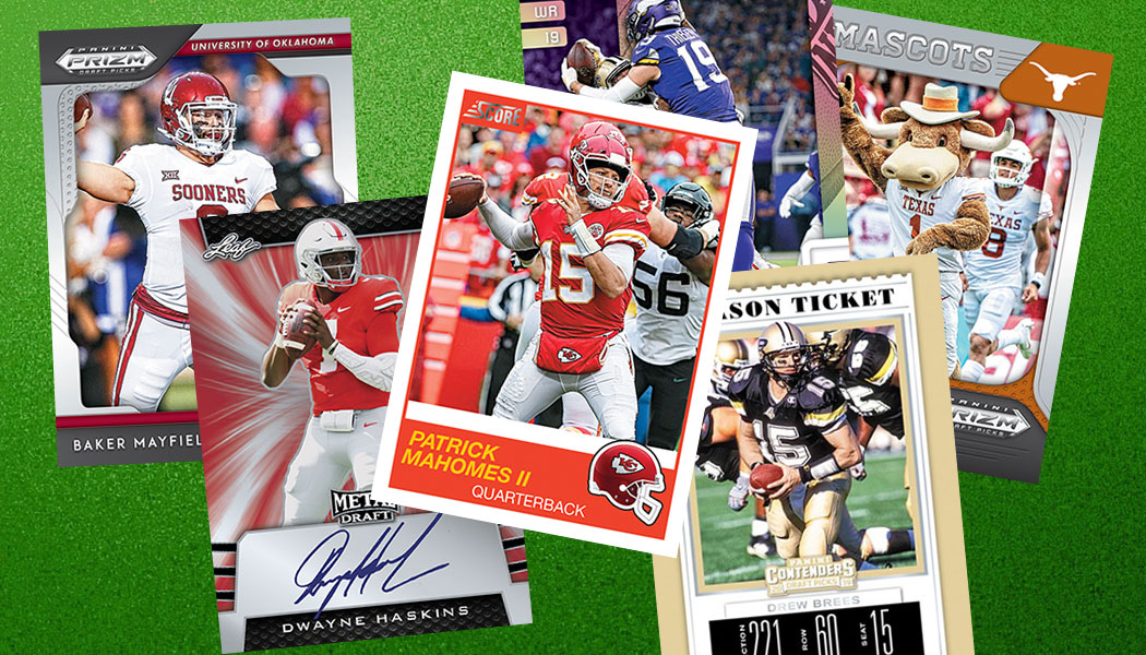 NFL Football Cards Memorabilia and Breaks